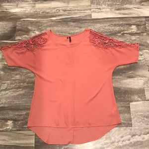 Maurices Dress Shirt with Cutout